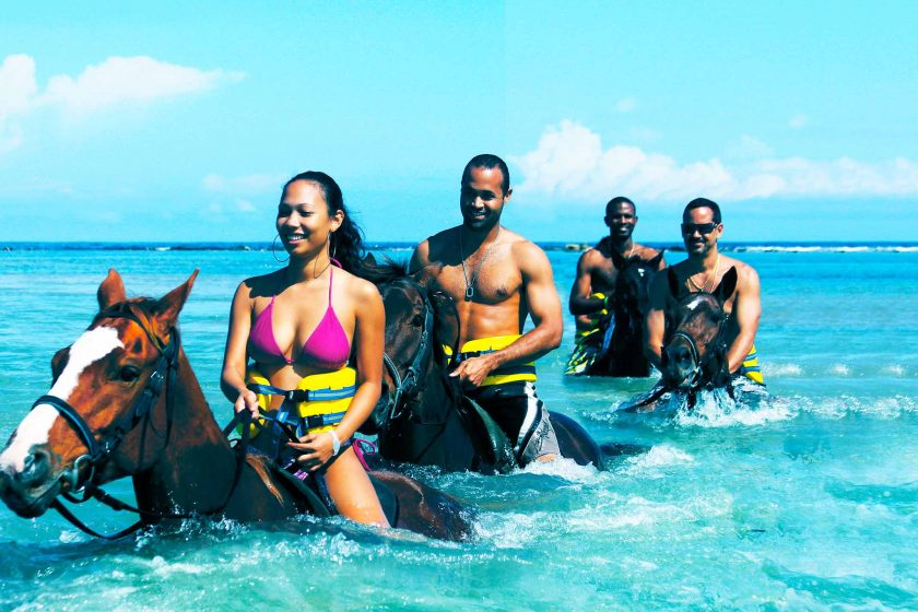 CHUKKA Horseback Ride Swim